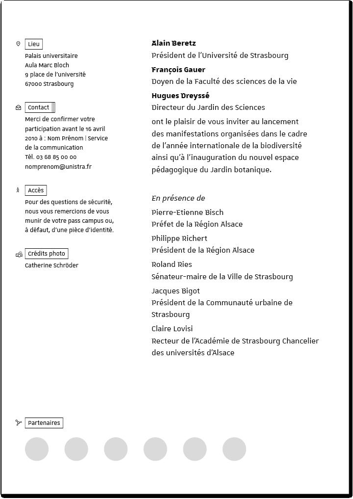 Invitations Boite A Outils Graphique De L Universite De Strasbourg